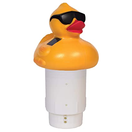 GAME Solar Light-Up Derby Duck Pool Chlorinator