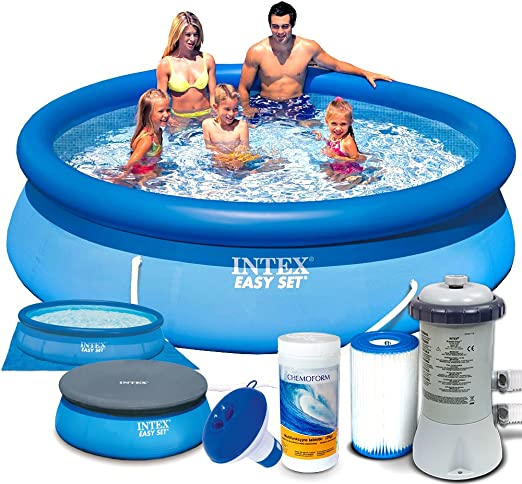 Set 7 in1 Quick Up Piscina Intex 28122 Diámetro 305 x 76 cm: Amazon.es: Jardín