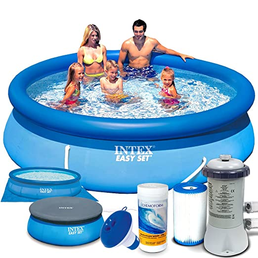 Set 7 in1 Quick Up Piscina Intex 28122 Diámetro 305 x 76 cm ...