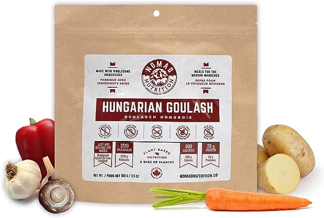Nomad Nutrition Goulash húngaro – Comidas con proteínas a ...