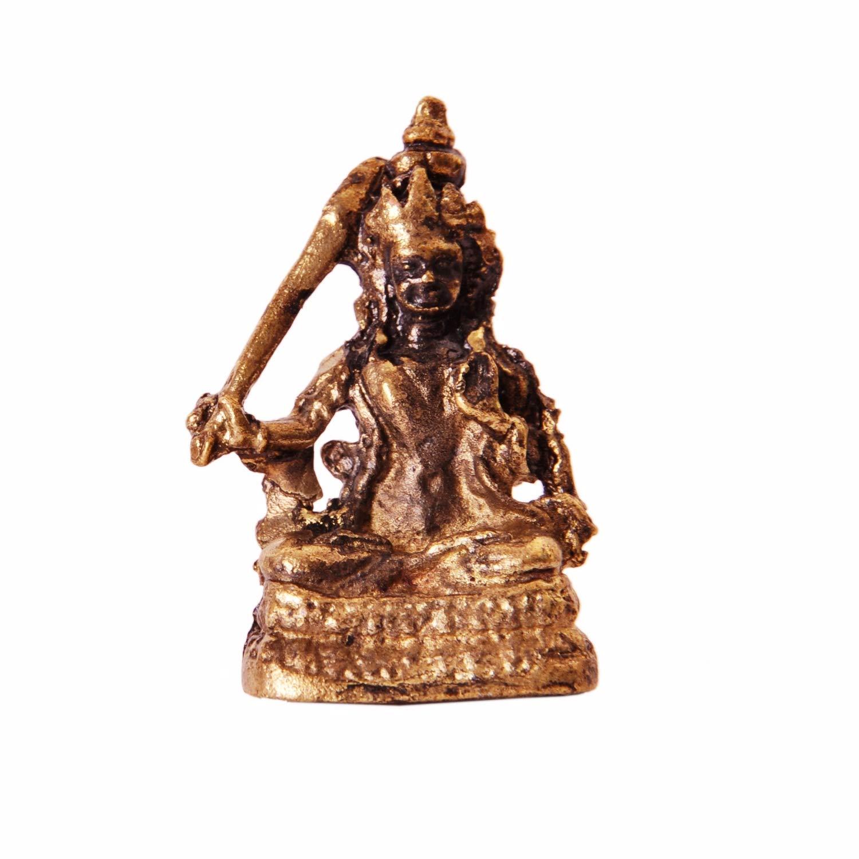 Unique Collectible Gift Purpledip Rare Miniature Statue Set Goddess Tara in 2 Different Poses 11410