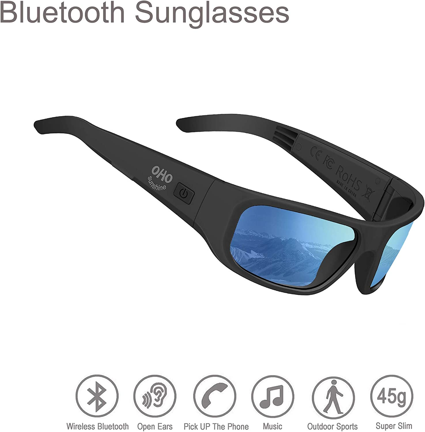 Fashionwu Men Polarized Sunglasses Ultraviolet-proof Sport Driving Goggles