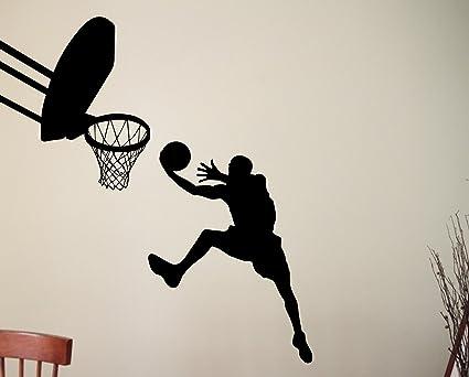 Amazon.com: Baloncesto Slam Dunk reproductor de calcomanía ...