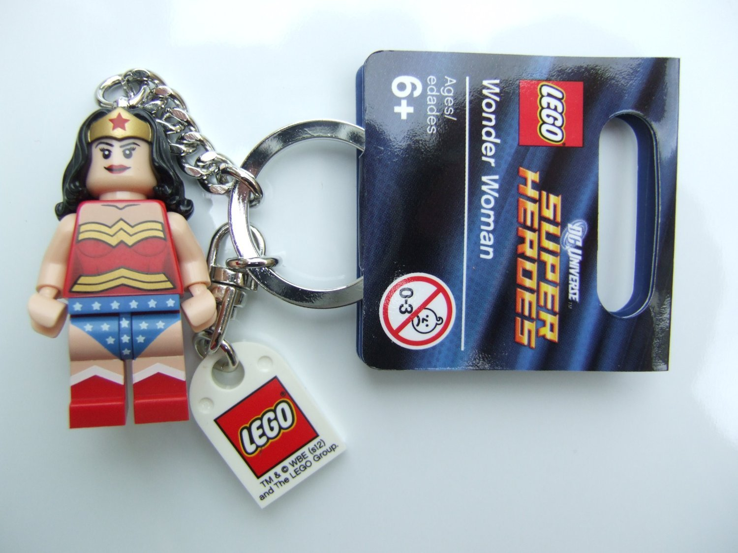 Wonder Woman Keyring Lego Super Heroes 853433