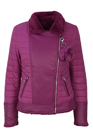 Guess Jeans W74L93W94X0 Blouson Femme Rosa G435 XS 7f5a60e5d7a9