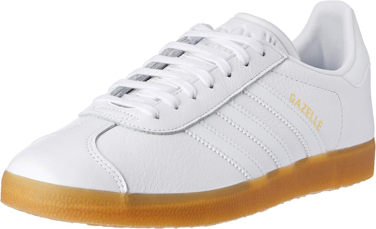 adidas Gazelle, Zapatillas para Hombre, Blanco (White Bd7479), 40 2/3 EU: Amazon.es: Zapatos y complementos
