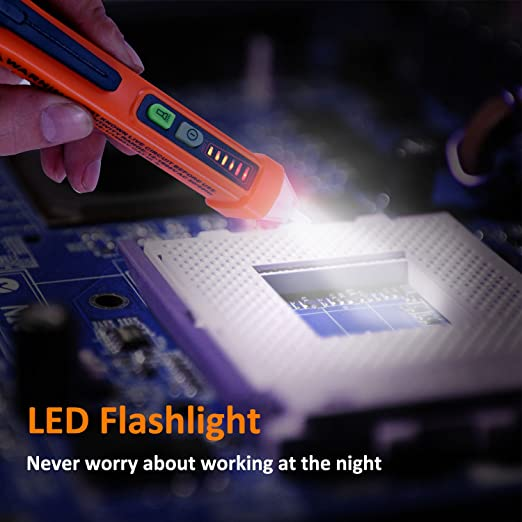 Amazon.com: ILINKMUCH - Comprobador de voltaje sin contacto ...