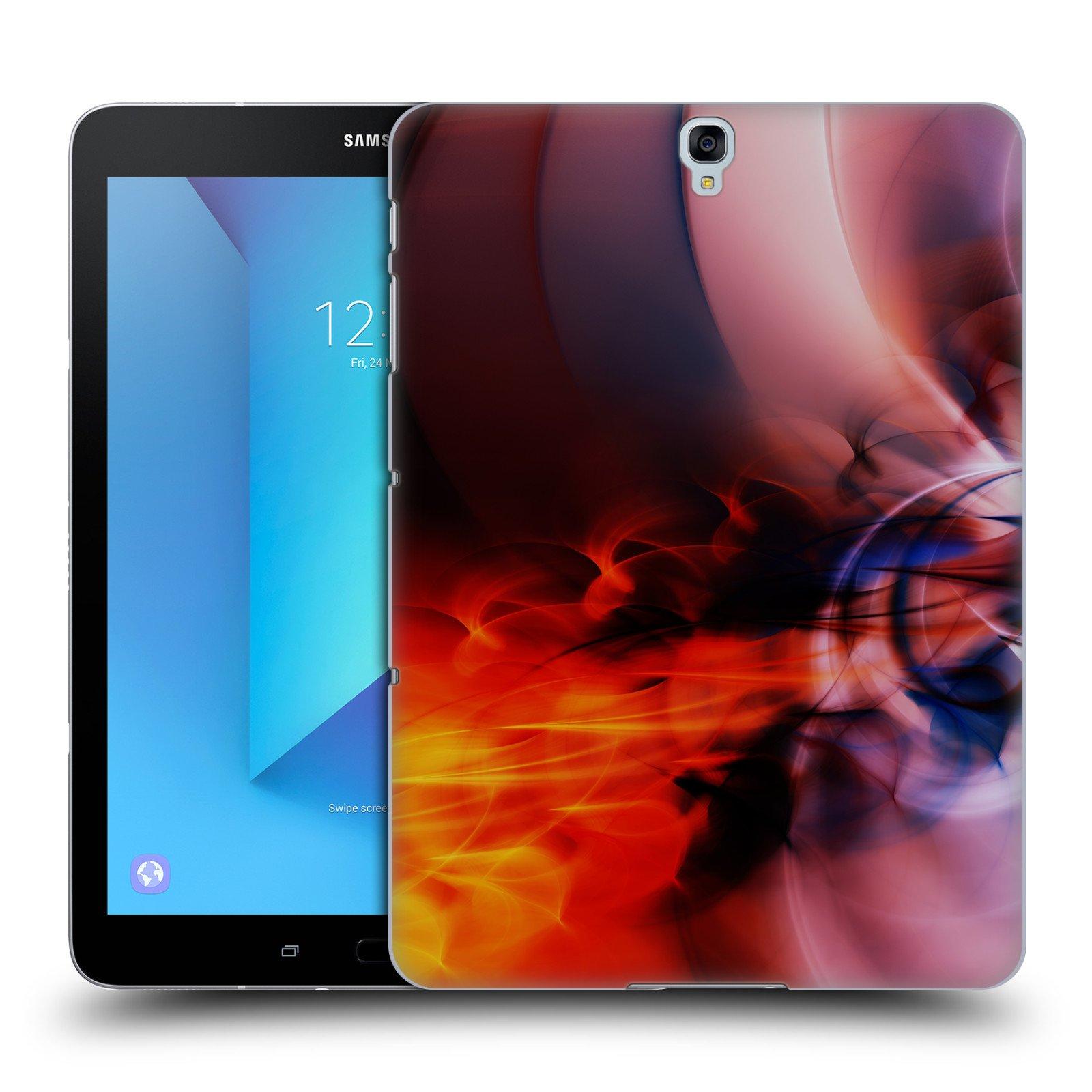 Official Andi GreyScale Blast Off Solar Flames Hard Back Case for Samsung Galaxy Tab S3 9.7