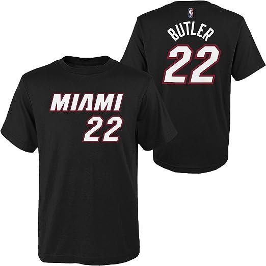 2020//21 Jimmy Butler 22# Jersey Manga Corta Miami Heat Basketball T-Shirt City Edition Chaleco Player Nombre y n/úmero Jersey Sportswear