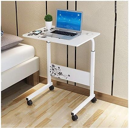 BH Mesa Plegable Mesa de Escritorio móvil elevable-hogar Mesa de ...