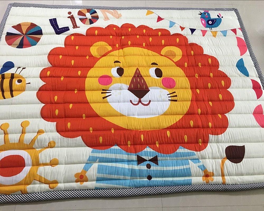 Amazon.com: USTIDE - Alfombra de algodón para bebé ...