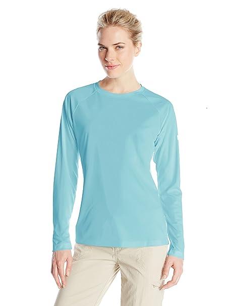 86ce8354 Amazon.com: Columbia Women's PFG Tidal Tee II Long Sleeve Shirt: Clothing