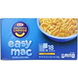Kraft Easy Mac Original Macaroni and Cheese Dinner 18 Microwaveable Single Serve Packets