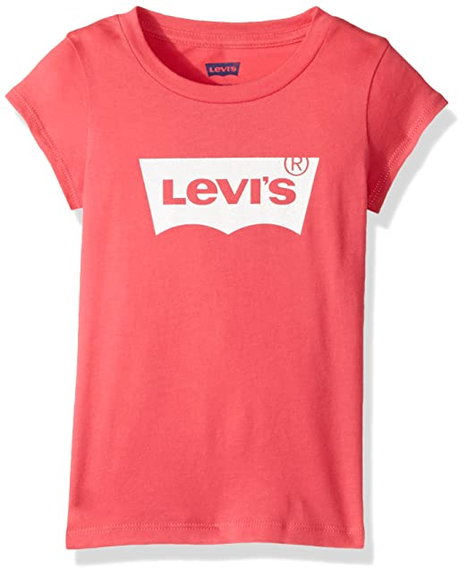 50e84e04 Amazon.com: Levi's Girls' Classic Batwing T-Shirt: Clothing
