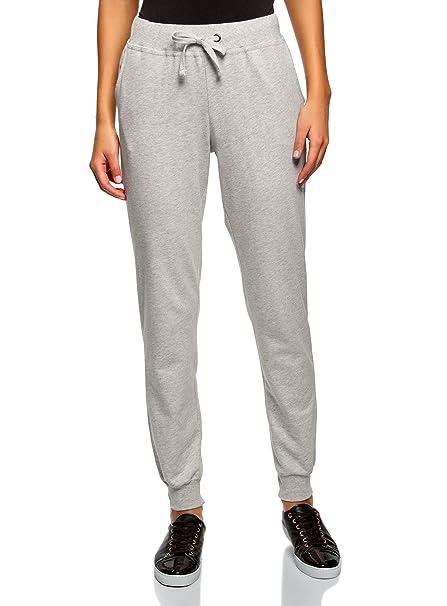 oodji Ultra Mujer Pantalones de Punto (Pack de 3)  Amazon.es  Ropa y  accesorios 02936e7e492