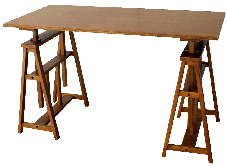 市場 オマージュ アトリエテーブル 幅120×奥60cm ブラウン HMT-2665BR[2個口] 幅120×奥60cm  B00IICKGZ6