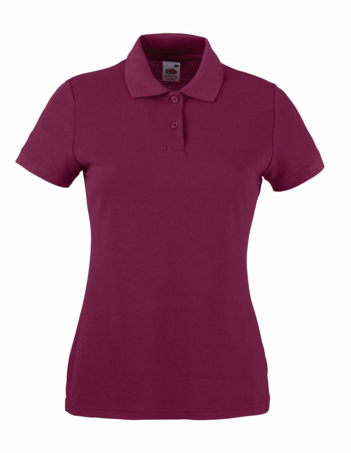 Fruit of the Loom Womens Lady Fit Pique Polo Shirt