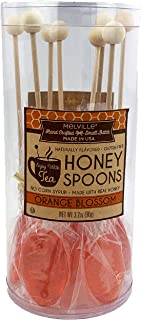 product image for Melville Orange Blossom Honey Tea Spoon Stirrers Made With Real Honey Sweeten and Flavor Your Cup 100% USA Made