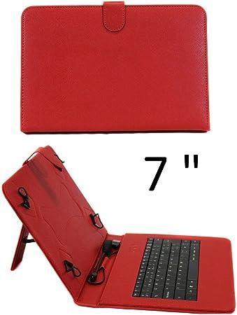 SUNING Funda con Teclado Tablet 7