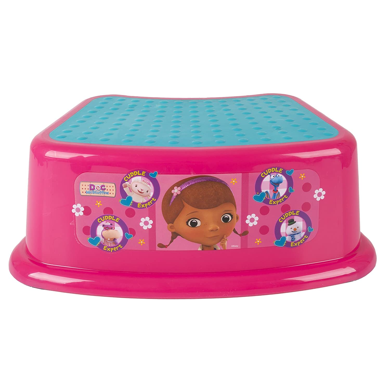 Disney Doc McStuffinsCuddle Expert Step Stool, Pink GINSEY 57301