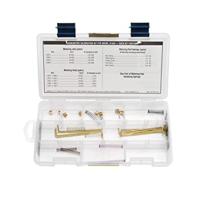 Edelbrock 1486 Performance Series Carburetor Calibration Kit: Automotive