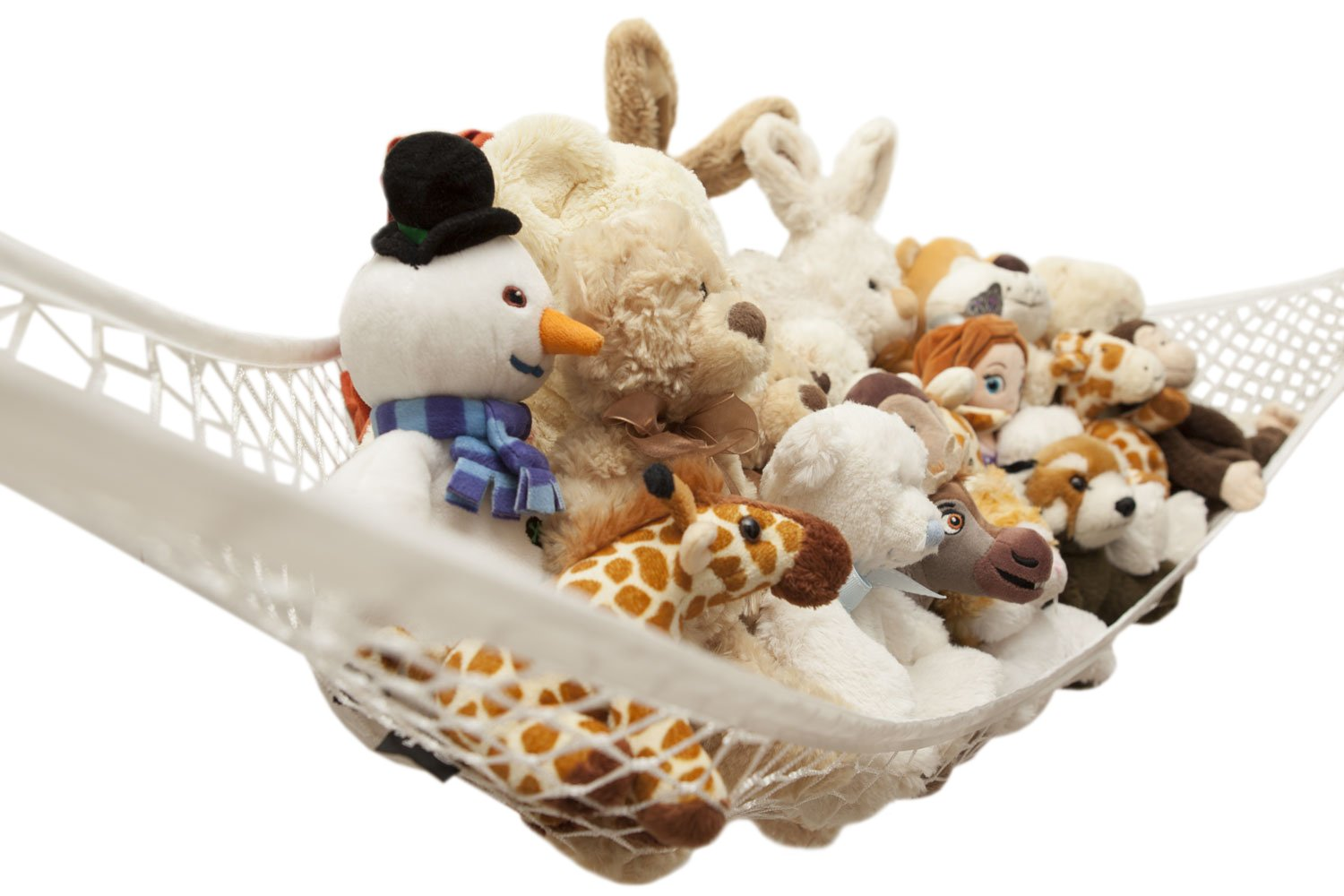 Medium image of amazon    toy hammock by freddie and sebbie   luxury jumbo toy hammock storage   for stuffed animals excellent for nursery storage