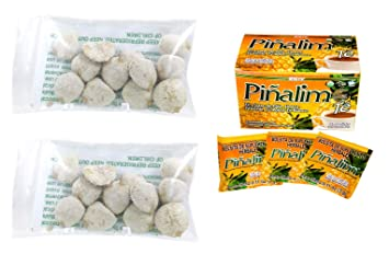 2 Pack Indian Nut 24 seeds AND Te Pinalim Tea GN+Vida Weight Loss Tea Diet  30 Day Supply