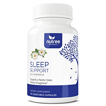 Sleep Support - Natural Sleeping Complex w Melatonin to Help You Sleep Well & Wake Up