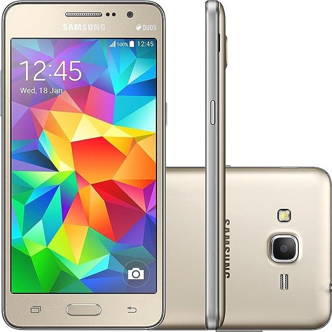 Celular Smartphone Samsung Galaxy Gran Prime Duos G530h 8gb Dourado - Dual Chip