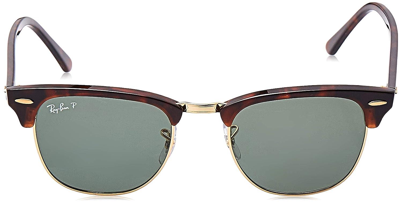 Amazon.com: Ray-Ban RB3016 Clubmaster - Gafas de sol ...