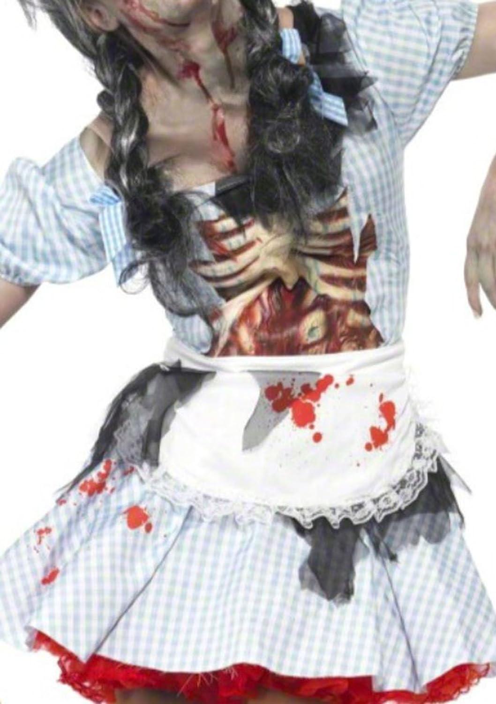 Karnevalsbud - Erwachsene Halloween Zombie Zombie Zombie Outfit, XS, Weiß a5c720