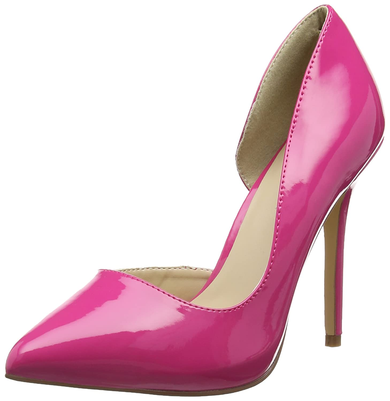 Pleaser Amuse 22 - Tacones, Mujer 39 EU|Rosa (H Pink Pat)