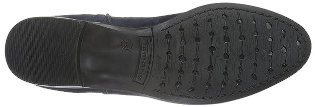 Tamaris Damen 25005 Schlupfstiefel Schwarz (Black 001