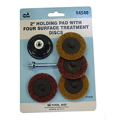 """Tool Aid S&G (94540) Holding Pad with Four Surface Treatment Disc, 2"""": Automotive"""
