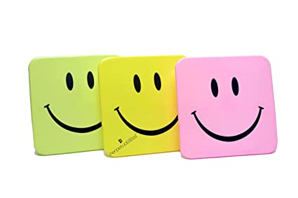 Perpetual BlissTM Pack Of 5 Smiley Lunch Box Return Gift For Kids