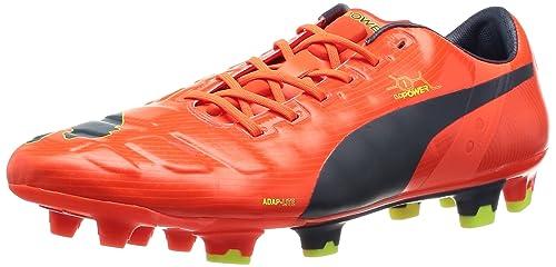 Autumn Winter 2017 Soccer Shoes Canada Puma Evopower 1 Fg Men s Fluro Peach Ombre Blue Shoes Size 8 5 UK Size 10 US 4 5 9 5 3 12