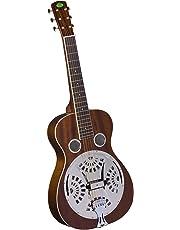 Regal Studio RD-30MS Studio Series Squareneck Resophonic Guitar - Natural Mahogany