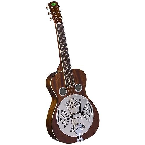 Regal Studio RD-30MS Series Squareneck Resophonic Guitar - Natural Mahogany