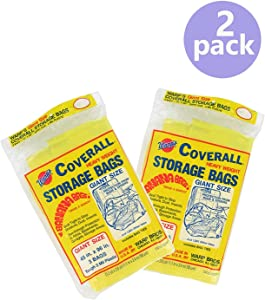 Warp Brothers CB-45 Banana Bags 3-Count Storage Bags, 45-Inch by 96-Inch (2 Pack)