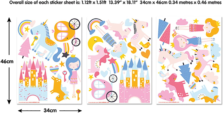 Multi-Colour 37.5 x 4 x 18 cm Vinyl Walltastic Paw Patrol Wall Stickers