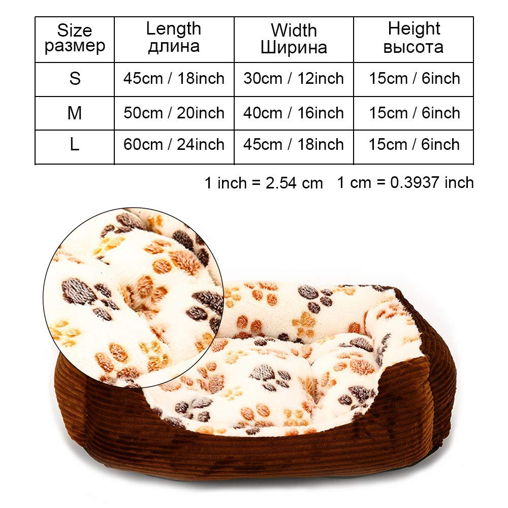 Beige-yx0002 M as pictures beige-yx0002 M as pictures Cookisn Dog Bed Sofa Puppy Pet Dog Bed Bench for Small Large Medium Dogs Cat Blanket Dog Beds Mats House Lounger Pet Bed Kennel Products beige-yx0002 M