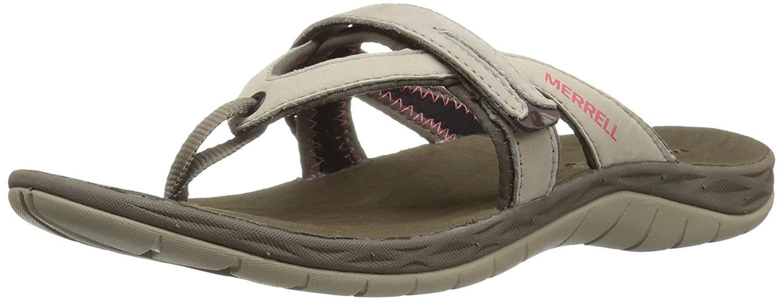 Merrell Women's Siren Flip Q2 Athletic Sandal B01HGVYHD6 6 B(M) US|Aluminum