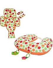 Clevamama Nursing Pillow- Clevacushion 10in1 - Breastfeeding Cushion (Multicolour)