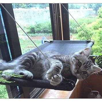 GWDJ Hamaca Lona y Red Paño Gato Hamaca Ventana Lechón Colgante Gato Hamaca Gato Hamaca de Descanso (Tamaño : 67 * 40CM): Amazon.es: Hogar