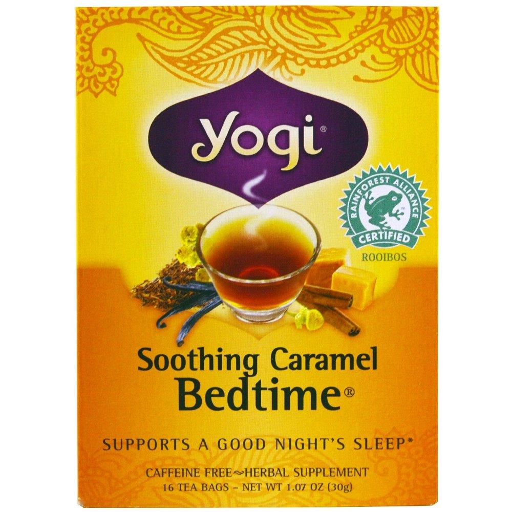 Yogi Tea Herbal Tea, Soothing Caramel Bedtime 1.07 oz (Pack of 2)