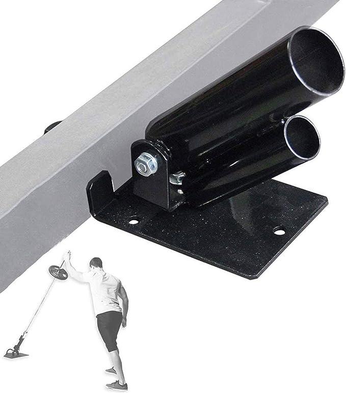 Soportes de Placa de Peso Negros para Ejercicios de Espalda Asinean Rotaci/ón de 360 Grados Barbell T-Bar Row Plate Post Landmine para Barras Ol/ímpicas de 2 Pulgadas Barras de 50 mm