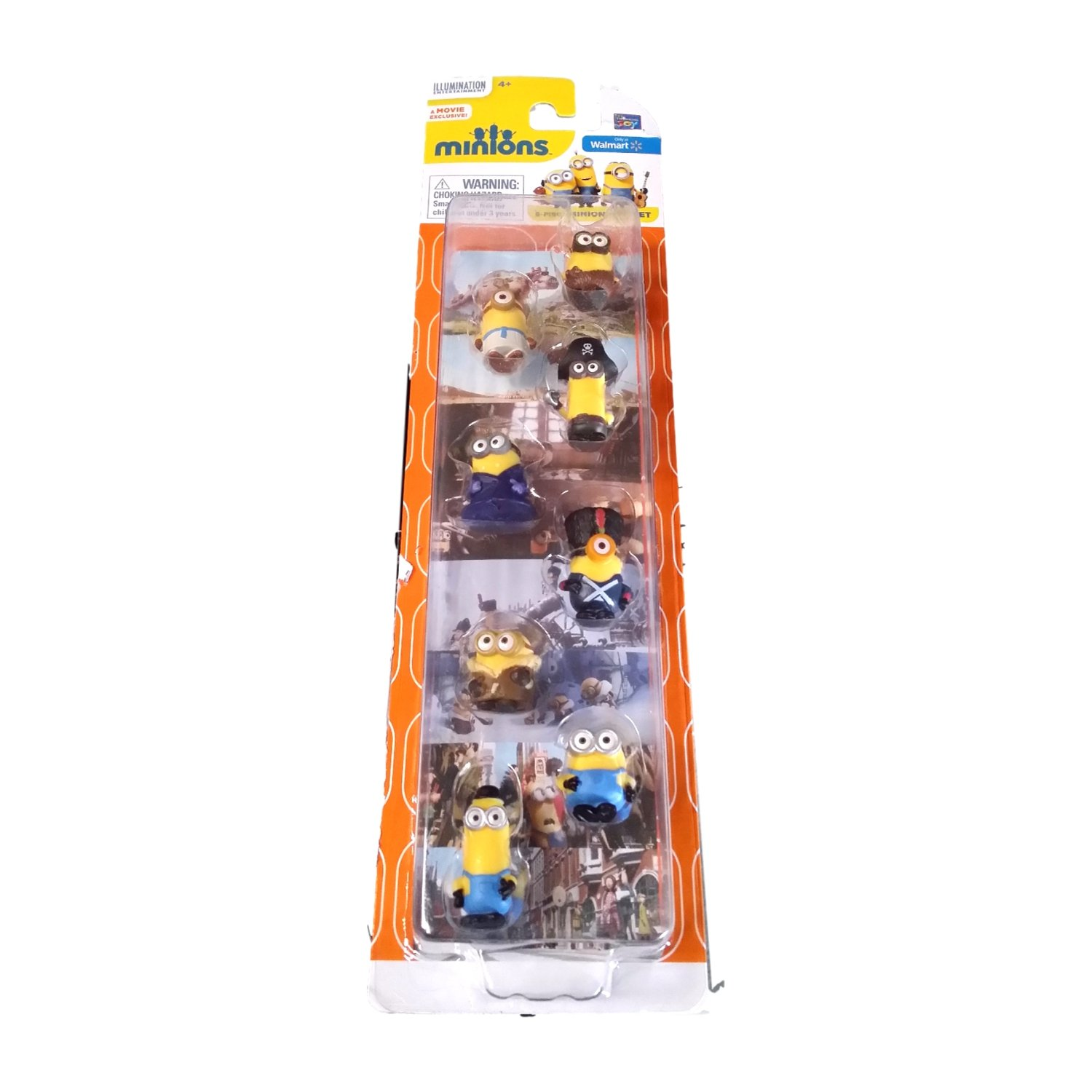 Minions Movie Deluxe 8 Figure Micron Gift Set 00098000721