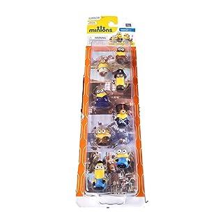 Minions Movie Deluxe 8 Figure Micron Gift Set 00098000721