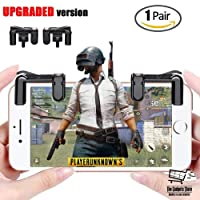 The Gadgets Store PUBG Fortnite Smart Phone Gamepad with Trigger Button, Fire Button and Aim Key for iPhone and Xiaomi