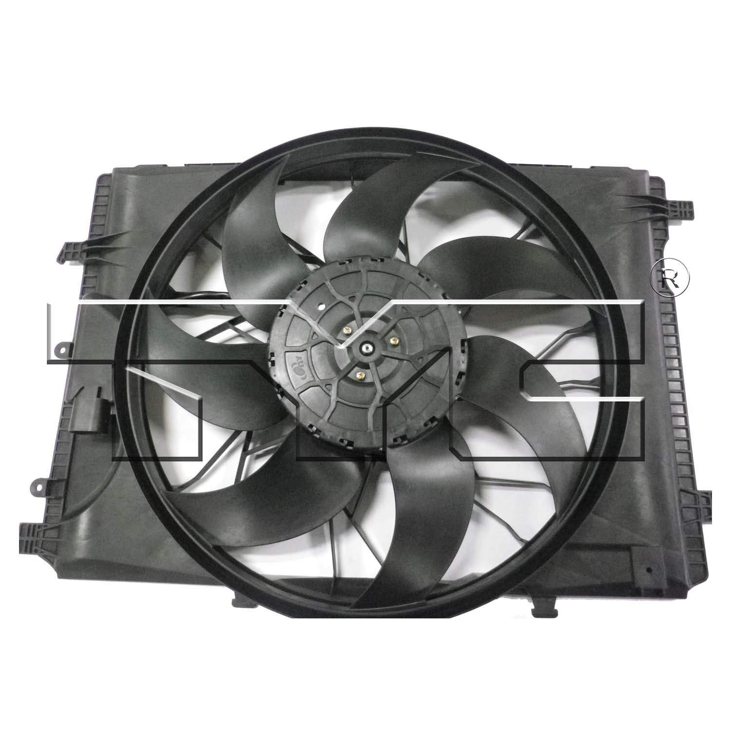 Dual Radiator and Condenser Fan Assembly TYC 623130